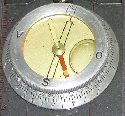 Danish compass markings
