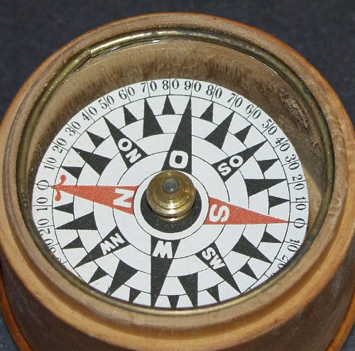German compass markings