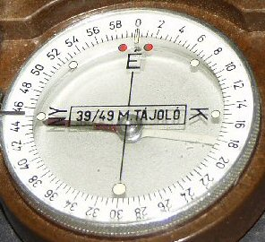 Hungarian compass markings