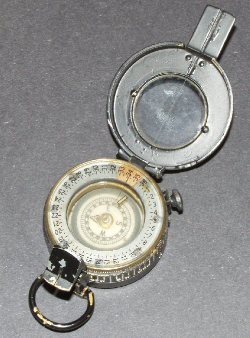 Military Prismatic compass